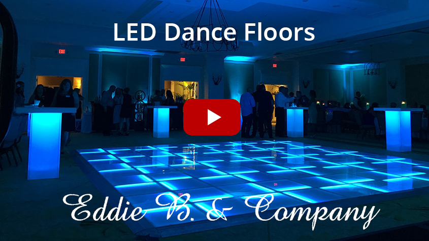 "The floor can be used in an indoor and outdoor setting, and at only 1.25"" tall it is one of the thinnest light up dance floors in the world!"