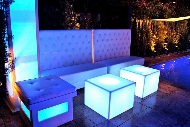 Lounge and Glow Furniture for your next event!